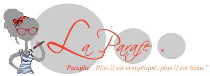 Logo La Paraphe